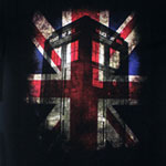 Tardis Union Jack - Dr. Who T-shirt