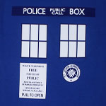 Tardis Front - Dr. Who T-shirt