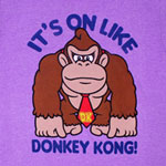 It's On Like Donkey Kong - Nintendo T-shirt