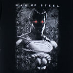 Red Eyes - Man Of Steel T-shirt