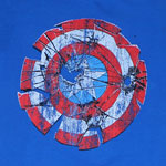 Broken Shield - Captain America - Marvel Comics Sheer T-shirt