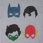 Masks - DC Comics T-shirt