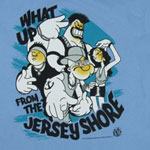 What Up From The Jersey Shore - Popeye T-shirt