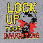 Lock Up Your Daughters - Peanuts Toddler T-shirt