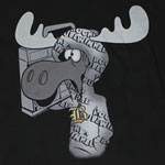 G Winkle - Rocky And Bullwinkle Sheer T-shirt
