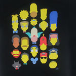Vector Faces - Simpsons T-shirt