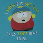I Know I'm Special - South Park Sheer Women's T-shirt