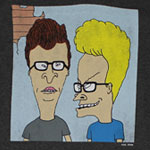 Nerdy - Beavis And Butthead T-shirt