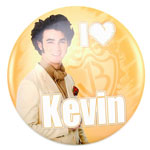 I Heart Kevin - Jonas Brothers Button