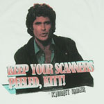 Keep Your Scanners Peeled - Knight Rider Sheer T-shirt
