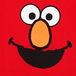 Elmo Face Version 2 - Sesame Street Juvenile T-shirt