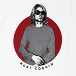 Red Circle - Kurt Cobain T-shirt