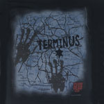 Terminus Map - Walking Dead T-shirt