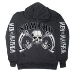 Crossed Guns - Sons Of Anarchy Hooded Sweatshirt