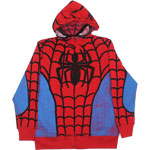 Spider-Man Costume - Marvel Comics Youth Hooded Sweatshirt