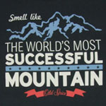 The World's Most Successful Mountain - Old Spice T-shirt