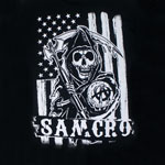 Black And White America - Sons Of Anarchy T-shirt