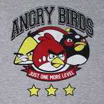 One More Level - Angry Birds T-shirt