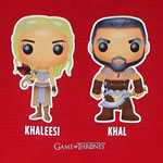 Khaleesi And Khal - Game Of Thrones Juniors T-shirt
