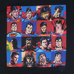 Faces Of Superman - DC Comics T-shirt