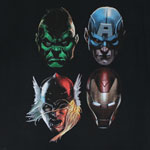 Four Avengers - Marvel Comics T-shirt