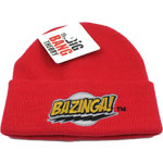 Bazinga! - Big Bang Theory Knit Hat
