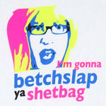 Betchslap Ya Shetbag - The Liam Show Sheer Women's T-shirt