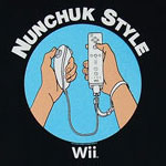 Nunchuck Style - Wii - Nintendo Boys T-shirt