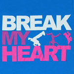 Break My Heart - America's Best Dance Crew Sheer Women's T-shirt