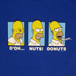 D&#039;oh...Nuts Donuts - Homer - Simpsons T-shirt