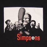 Sopranos - Simpsons T-shirt