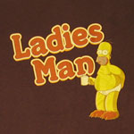 Ladies Man - Homer - Simpsons T-shirt