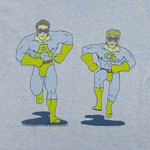 Ace And Gary - Ambiguously Gay Duo - Saturday Night Live Sheer Ringer T-shirt