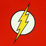 Flash Logo (Glow In The Dark) - Flash - DC Comics T-shirt