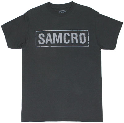 Samcro Banner - Sons Of Anarchy T-shirt